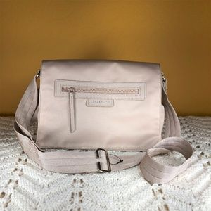 LONGCHAMP Le Pliage Nylon Messenger Crossbody Bag